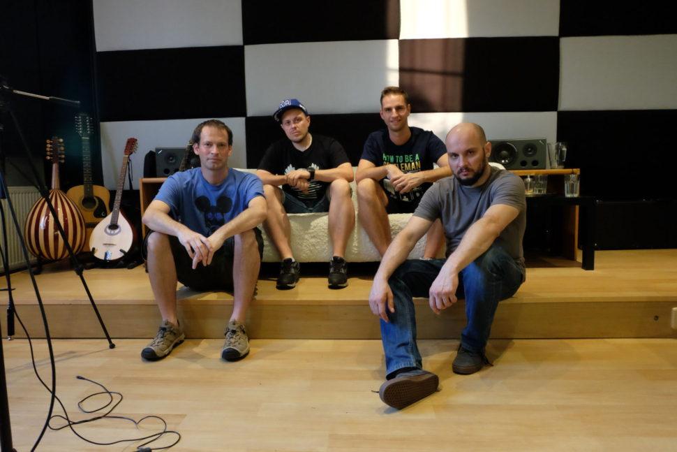 Nahrávání EP kapely Groove Planet.